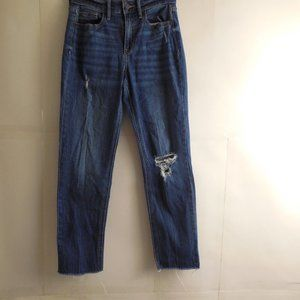 5395....Old Navy Straight leg Ankle Jeans Size 0